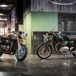 De nieuwe Triumph Thruxton en Thruxton R