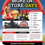 "MotoPort Roadshow ""More in Store Days"""