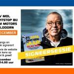 Olav Mol maakt pitstop bij Premium Motors op 17 december 2016