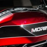 Moto Morini in Chinese handen